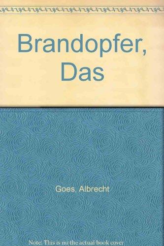 9780174445548: Brandopfer, Das