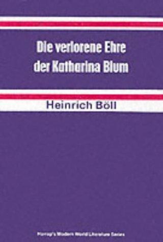 9780174445814: Lost Honour of Katharina Blum (German literary texts)