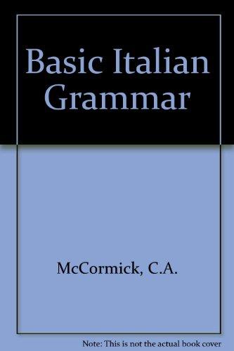 9780174450290: Basic Italian Grammar