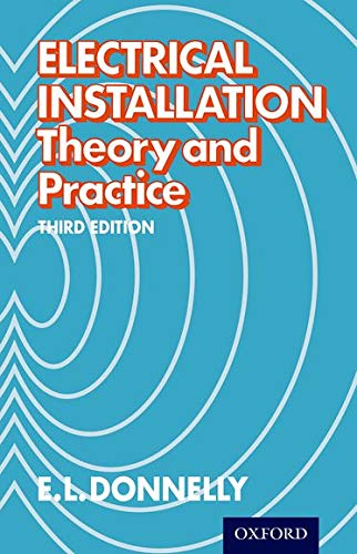 9780174450740: Electrical Installation - Theory and Practice Third Edition