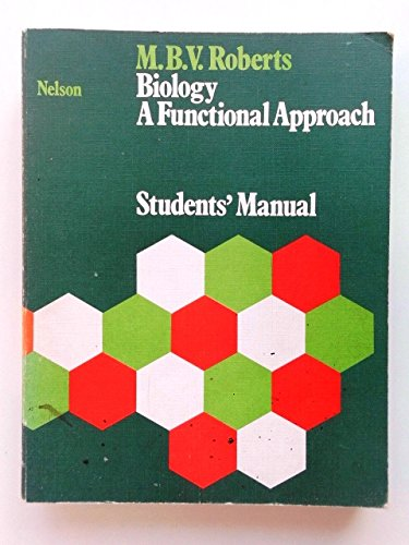 9780174480020: Biology: A Functional Approach: Students' Manual