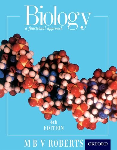 9780174480198: Biology - A Functional Approach Fourth Edition