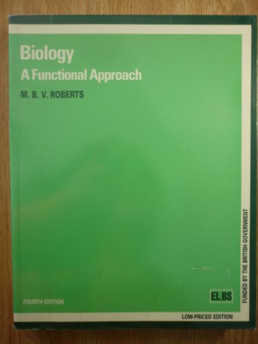 9780174480334: Biology: A Functional Approach