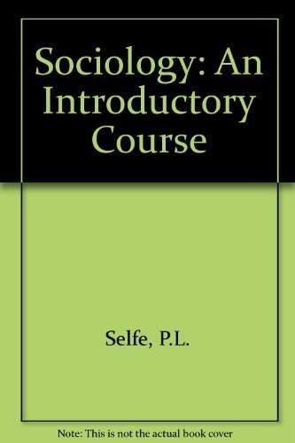 9780174481003: Sociology: An Introductory Course