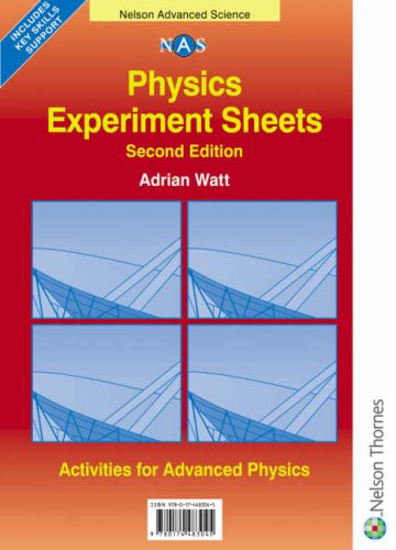 9780174483045: Nelson Advanced Science: Physics Experiment Sheets: Second Edition