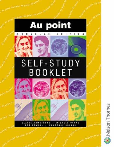 9780174490814: Au point Nouvelle Edition - Self Study Booklet