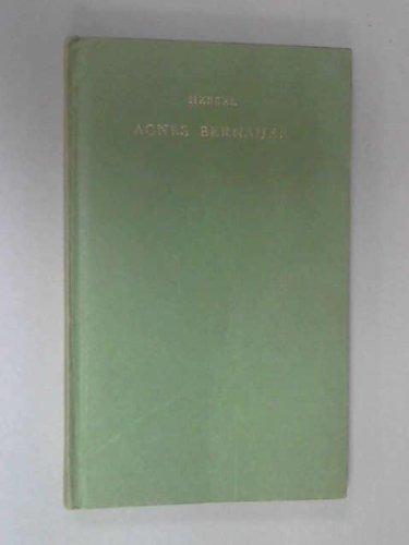 9780174491309: Agnes Bernauer (German Texts)