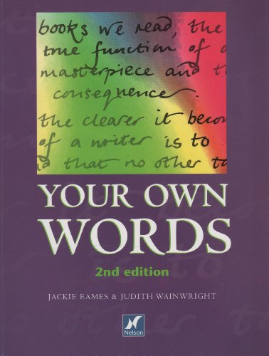 9780174900535: Your Own Words /