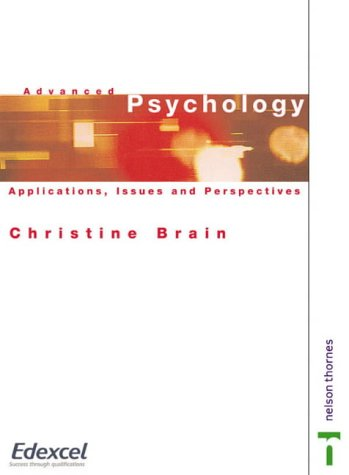 9780174900580: Advanced Psychology: Applications, Issues & Perspectives