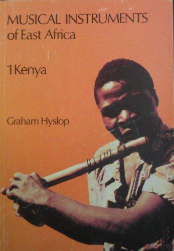 9780175112500: Musical Instruments of East Africa: Kenya Bk. 1