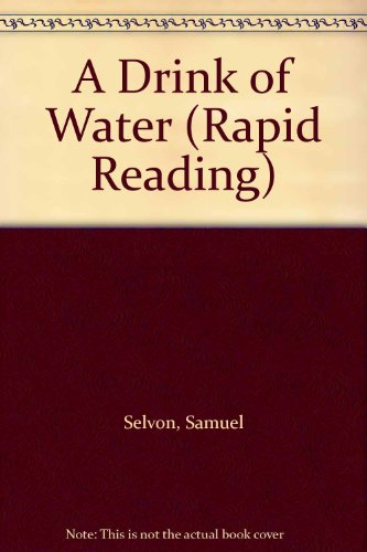 9780175550487: A Drink of Water (Rapid Reading)