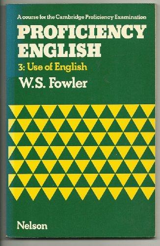 9780175551194: Proficiency English: Use of English Bk. 3