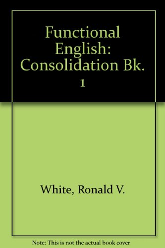 9780175552887: Functional English Book 1 - Consolidation