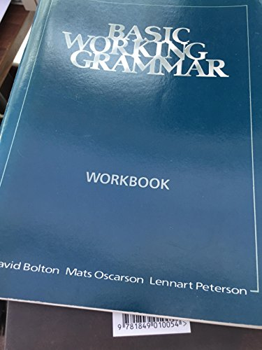 9780175556434: Basic Working Grammar: Workbk