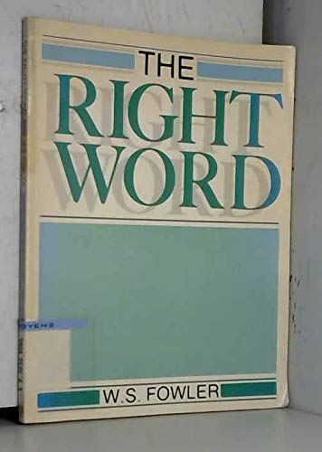 9780175556885: The Right Word (Vocabulary)