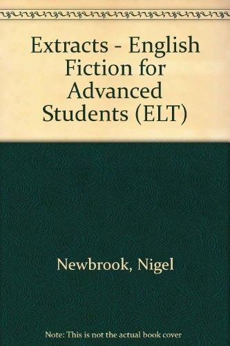 9780175557288: Extracts - English Fiction for Advanced Students (ELT)