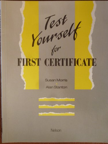9780175557370: Test Yourself for First Certificate English