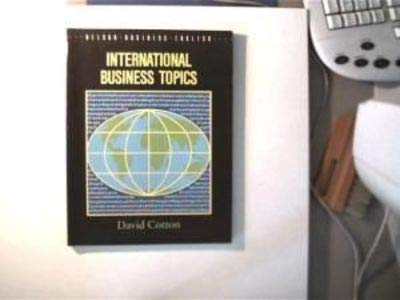 9780175558223: International Business Topics (Business English)