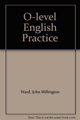 9780175558292: O-level English Practice