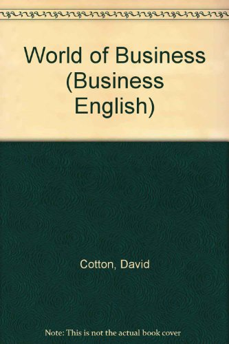 9780175558551: World of Business (Business English)