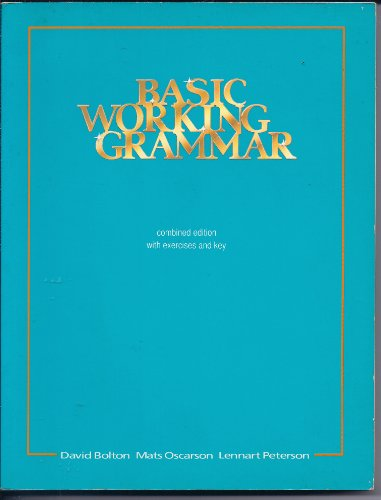 9780175558674: Basic Working Grammar