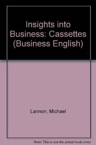 9780175559909: Insights into Business: Cassettes