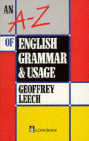9780175560219: An A-Z of English Grammar and Usage (1st Edition)