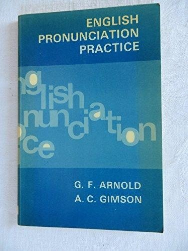 9780175561001: English Pronunciation Practice