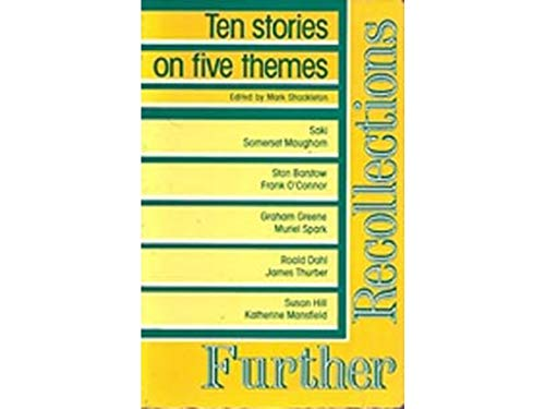 9780175561292: Further Recollections: Ten Stories (Nelson skills programme - reading skills)