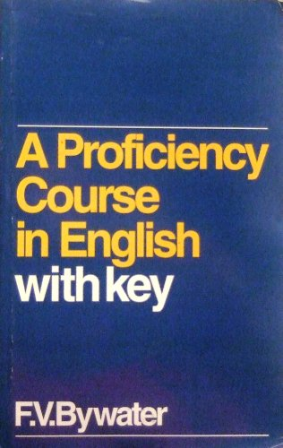 9780175561933: A Proficiency Course in English (Grammar & reference)