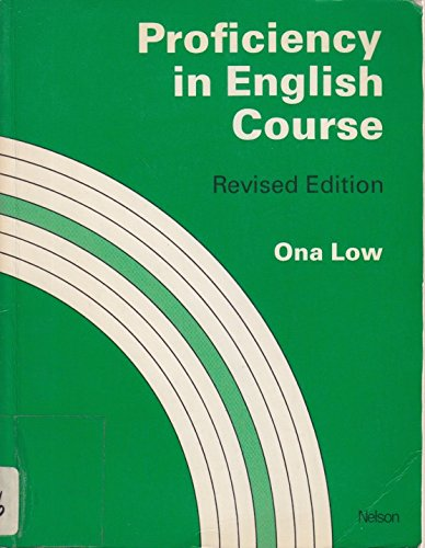 9780175561940: Proficiency in English Course: Student's Book