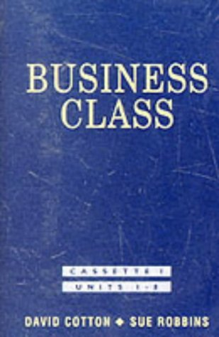 K7.business class (units 1-8): Cotton, David/Robbins, Sue