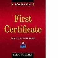 9780175566136: Focus on First Certificate (Cambridge Examinations)
