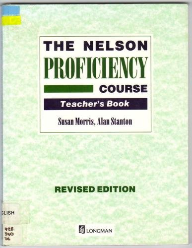9780175567041: The Nelson Proficiency Course: Teachers' Book