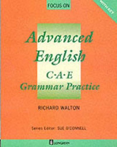 9780175567508: Focus on Advanced English: C.A.E.Grammar Practice