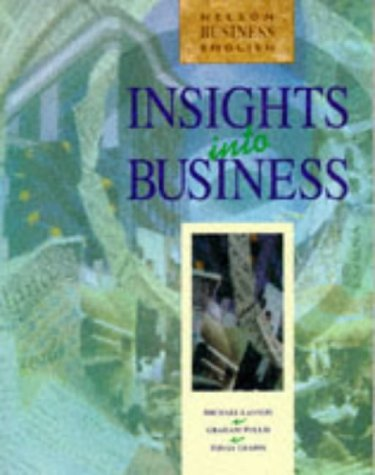 Insights into Business: Students' Book (INBU): Lannon, Michael; Tullis,