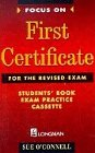 9780175569991: Focus on First Certificate for the Revised Exam: Student's Book Exam Practice Cassette (FFCE)