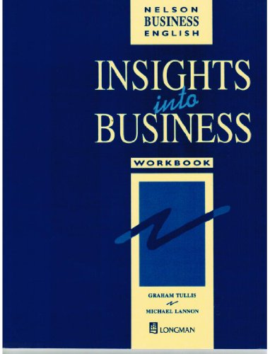 9780175570553: Insights into Business: Workbook (Insights)