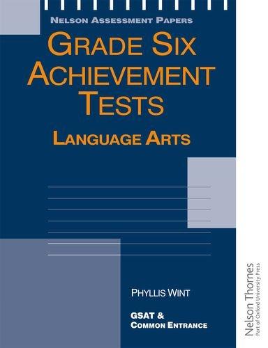 9780175664511: Grade Six Achievement Tests Language Arts (Nelson Assessment Papers)