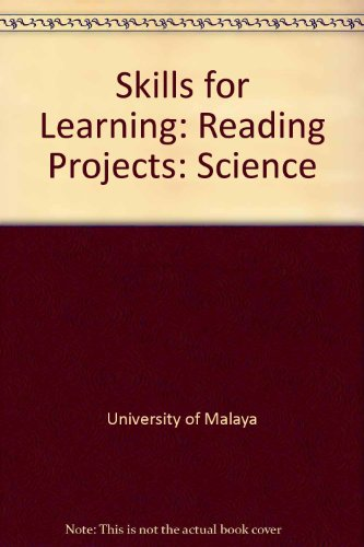9780175800940: Skills for Learning: Reading Projects: Science