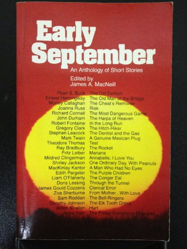9780176007492: Early September: An Anthology of Short Stories