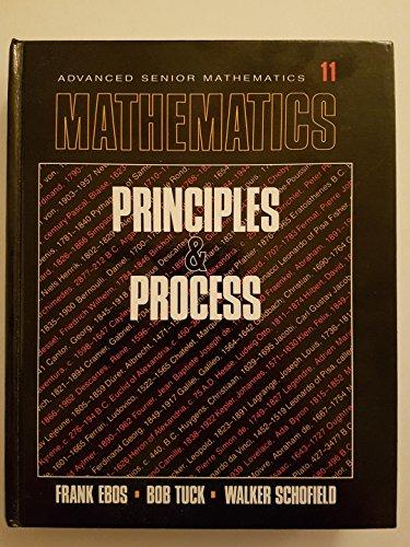 Advanced Senior Mathematics: Bob Tuck, Wlaker