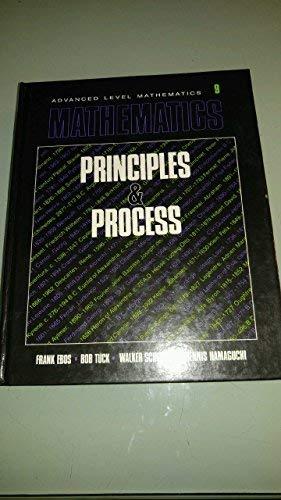 9780176026141: Mathematics: Principles & Process, No. 9