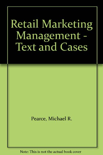 9780176034382: Retail Marketing Management - Text and Cases