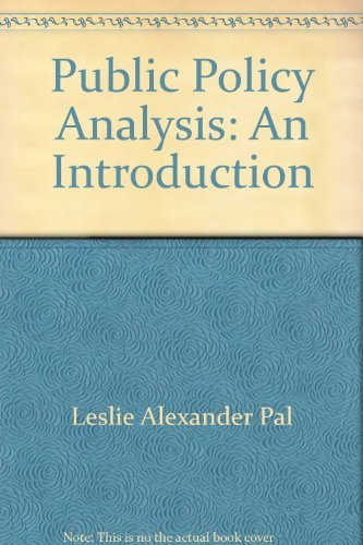 9780176035266: Public Policy Analysis (1992 publication)