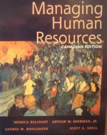 9780176055578: Managing Human Resources