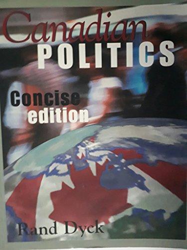 9780176069742: Canadian politics