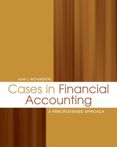 9780176102753: Cases in Financial Accounting: A Principles-Based Approach
