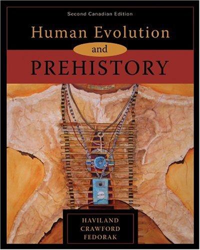 9780176102807: Human Evolution and Prehistory