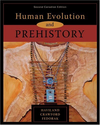 9780176102807: HUMAN EVOLUTION+PREHISTORY >CA